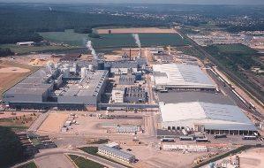 overview of norske skog golbey mill