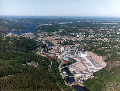 overview of norske skog saugbruks mill